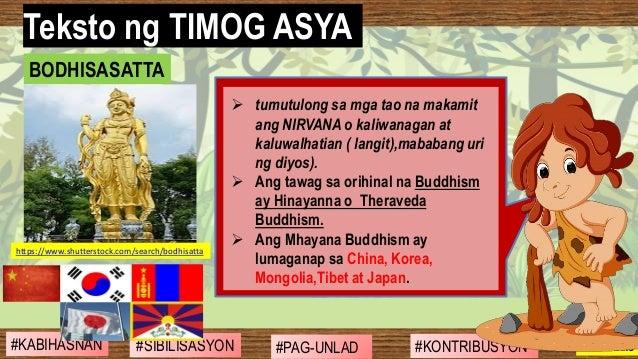 #SIBILISASYON #PAG-UNLAD #KONTRIBUSYON#KABIHASNAN 2ND GRADING ➢ tumutulong sa mga tao na makamit ang NIRVANA o kaliwanagan...