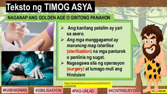 #SIBILISASYON #PAG-UNLAD #KONTRIBUSYON#KABIHASNAN 2ND GRADING ➢ Ang kanilang patalim ay yari sa asero. ➢ Ang mga manggagam...