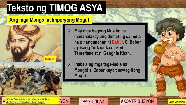 #SIBILISASYON #PAG-UNLAD #KONTRIBUSYON#KABIHASNAN 2ND GRADING ➢ May mga bagong Muslim na mananalakay ang dumating sa India...