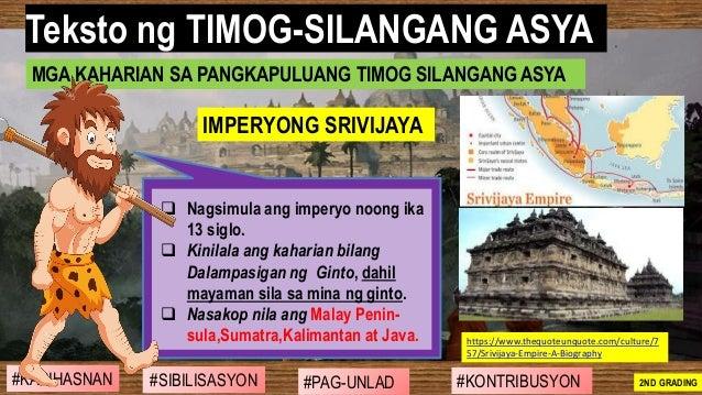 #SIBILISASYON #PAG-UNLAD #KONTRIBUSYON#KABIHASNAN 2ND GRADING ❑ Nagsimula ang imperyo noong ika 13 siglo. ❑ Kinilala ang k...