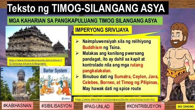 #SIBILISASYON #PAG-UNLAD #KONTRIBUSYON#KABIHASNAN 2ND GRADING ➢ Naimpluwensiyah sila ng relihiyong Buddhism ng Tsina. ➢ Ma...