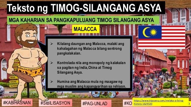 #SIBILISASYON #PAG-UNLAD #KONTRIBUSYON#KABIHASNAN 2ND GRADING ➢ Kilalang daungan ang Malacca, malaki ang kahalagahan ng Ma...