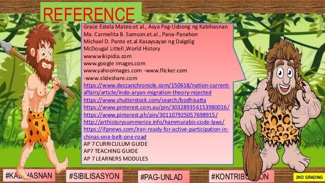 #SIBILISASYON #PAG-UNLAD #KONTRIBUSYON#KABIHASNAN 2ND GRADING REFERENCEGrace Estela Mateo.et al., Asya Pag-Usbong ng Kabih...