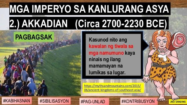 #SIBILISASYON #PAG-UNLAD #KONTRIBUSYON#KABIHASNAN 2ND GRADING ➢ Kasunod nito ang kawalan ng tiwala sa mga namumuno kaya ni...
