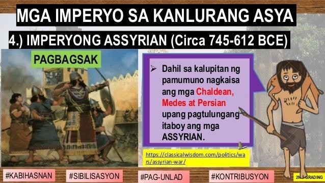 #SIBILISASYON #PAG-UNLAD #KONTRIBUSYON#KABIHASNAN 2ND GRADING ➢ Dahil sa kalupitan ng pamumuno nagkaisa ang mga Chaldean, ...
