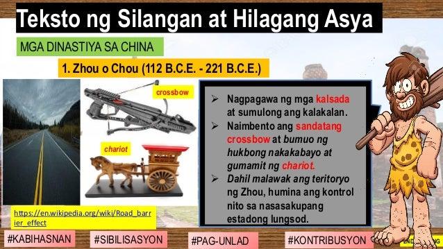#SIBILISASYON #PAG-UNLAD #KONTRIBUSYON#KABIHASNAN 2ND GRADING ➢ Nagpagawa ng mga kalsada at sumulong ang kalakalan. ➢ Naim...