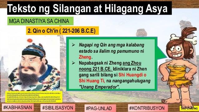 #SIBILISASYON #PAG-UNLAD #KONTRIBUSYON#KABIHASNAN 2ND GRADING ➢ Nagapi ng Qin ang mga kalabang estado sa ilalim ng pamumun...