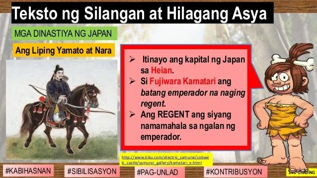 #SIBILISASYON #PAG-UNLAD #KONTRIBUSYON#KABIHASNAN 2ND GRADING ➢ Itinayo ang kapital ng Japan sa Heian. ➢ Si Fujiwara Kamat...