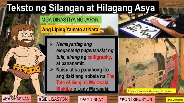 #SIBILISASYON #PAG-UNLAD #KONTRIBUSYON#KABIHASNAN 2ND GRADING ➢ Namayantag ang eleganteng pagsususlat ng tula, sining ng c...