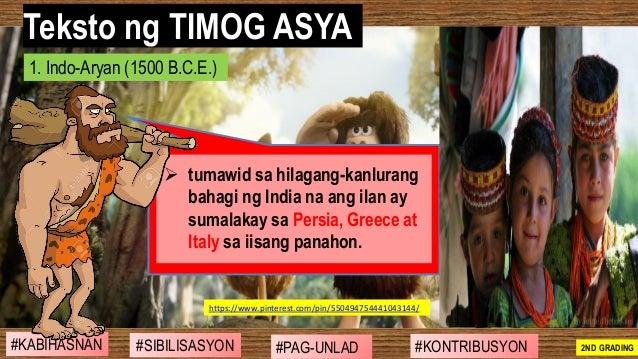 #SIBILISASYON #PAG-UNLAD #KONTRIBUSYON#KABIHASNAN 2ND GRADING ➢ tumawid sa hilagang-kanlurang bahagi ng India na ang ilan ...