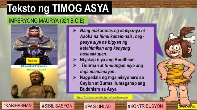 #SIBILISASYON #PAG-UNLAD #KONTRIBUSYON#KABIHASNAN 2ND GRADING ➢ Nang makaranas ng kampanya ni Asoka na hindi kanais-nais, ...