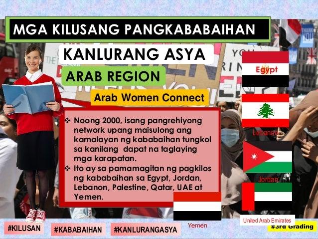  Noong 2000, isang pangrehiyong network upang maisulong ang kamalayan ng kababaihan tungkol sa kanilang dapat na taglayin...