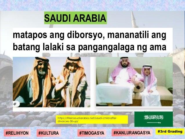 https://lifeinsaudiarabia.net/saudi-child-after- divorces-30-up/ matapos ang diborsyo, mananatili ang batang lalaki sa pan...