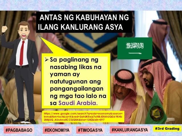 Sa paglinang ng nasabing likas na yaman ay natutugunan ang pangangailangan ng mga tao lalo na sa Saudi Arabia. https://ww...