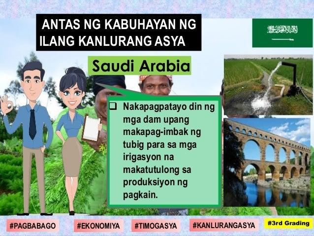  Nakapagpatayo din ng mga dam upang makapag-imbak ng tubig para sa mga irigasyon na makatutulong sa produksiyon ng pagkai...