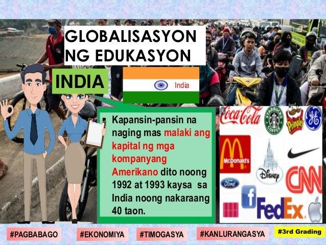  Kapansin-pansin na naging mas malaki ang kapital ng mga kompanyang Amerikano dito noong 1992 at 1993 kaysa sa India noon...