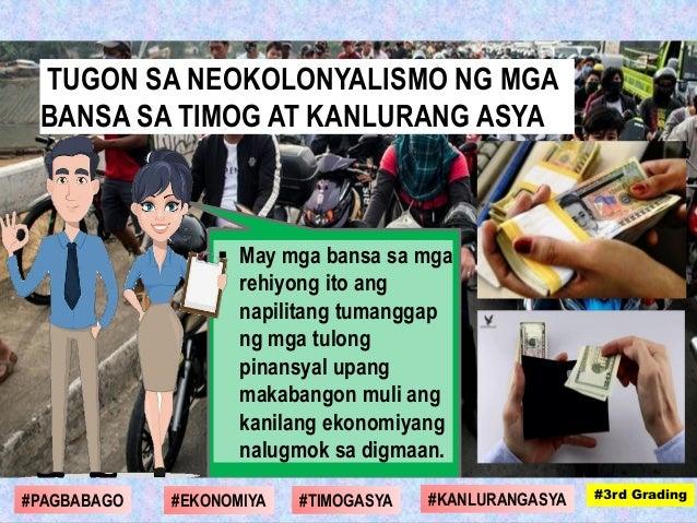  May mga bansa sa mga rehiyong ito ang napilitang tumanggap ng mga tulong pinansyal upang makabangon muli ang kanilang ek...