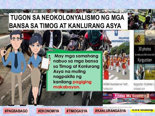  May mga samahang nabuo sa mga bansa sa Timog at Kanlurang Asya na muling nagpakita ng kanilang pagiging makabayan. #1st ...