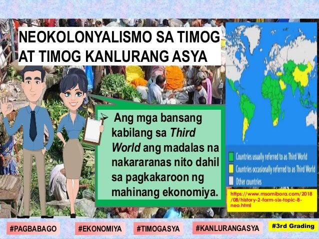  Ang mga bansang kabilang sa Third World ang madalas na nakararanas nito dahil sa pagkakaroon ng mahinang ekonomiya. #1st...