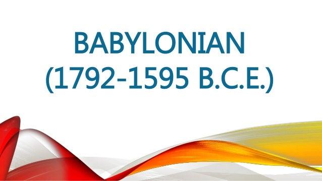 ASSYRIAN (1813-605 B.C.E.) • Noong 1120 B.C.E., nasupil ni Tiglath-Pileser I (1114-1076 B.C.E.) ang mga Hittite at naabot ...