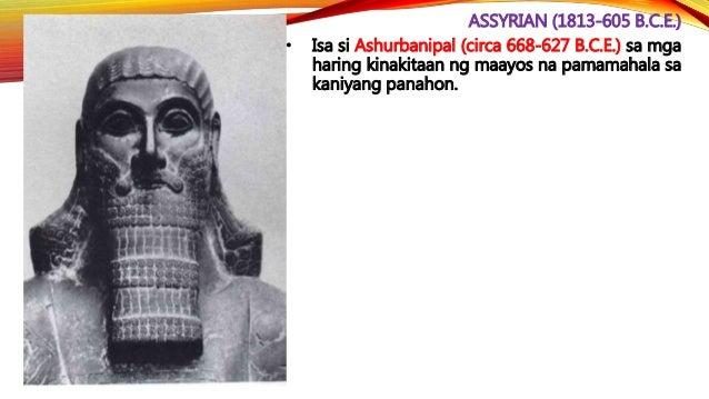 CHALDEAN (612-539 B.C.E.) • Tuluyang naigupo ni Nebuchadnezzar II (605-562 B.C.E.), anak ni Nabopolassar ang natitirang hu...