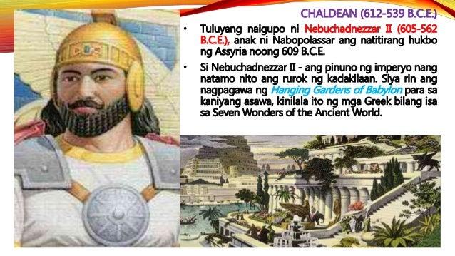 PERSIAN (539-330 B.C.E.) • Nagtatag ng isang malawak na imperyo ang mga Persian na tinawag na Imperyong Achaemenid. Nasa P...