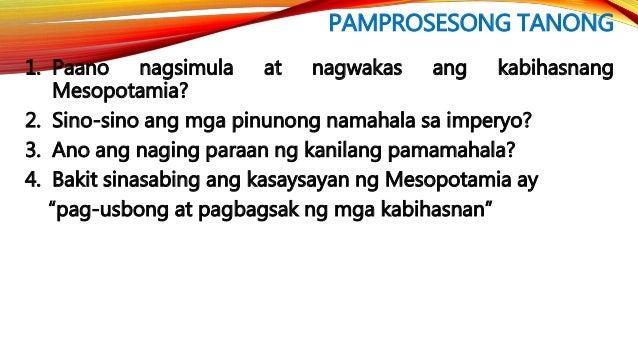 ANG KABIHASNANG INDUS SA TIMOG ASYA • Nanirahan sa maliliit na pamayanan ang mga Dravidian. • Ang kanilang lugar ay matata...
