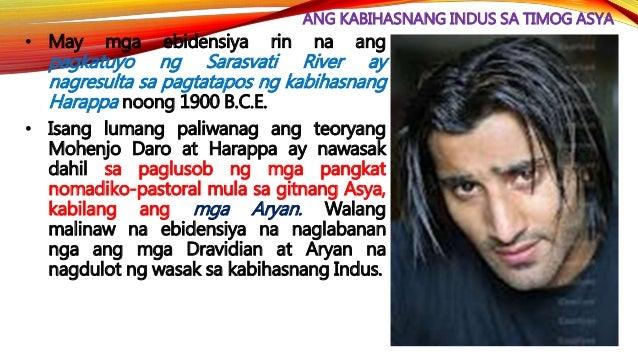ANG PANAHONG VEDIC (1500-500 B.C.E.) • Dinala ng mga Aryan ang kanilang mga diyos (na kadalasan ay mga lalaki at mapandigm...