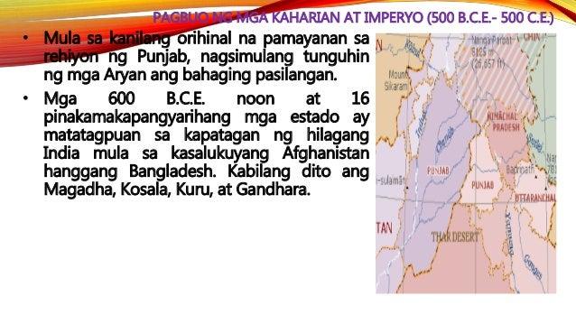 PAGBUO NG MGA KAHARIAN AT IMPERYO (500 B.C.E.- 500 C.E.) • Tinapos ni Alexander The Great ng Macedonia ang kapangyarihan n...