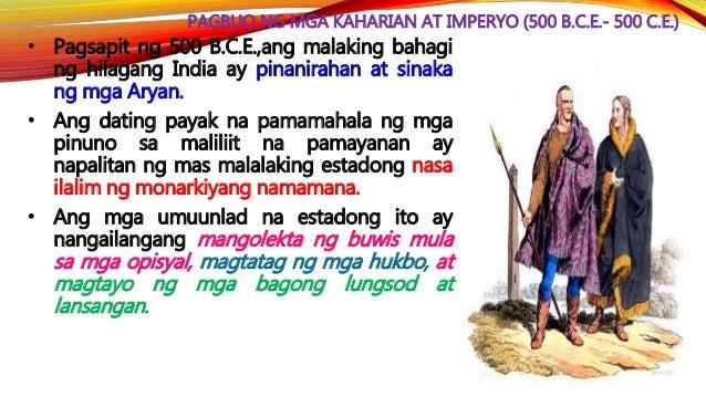 IMPERYONG MAURYA Pagkatatag Noong 322 B.C.E., nasakop ni Chandragupta Maurya ang dating kaharian ng Magadha at tinungo ang...