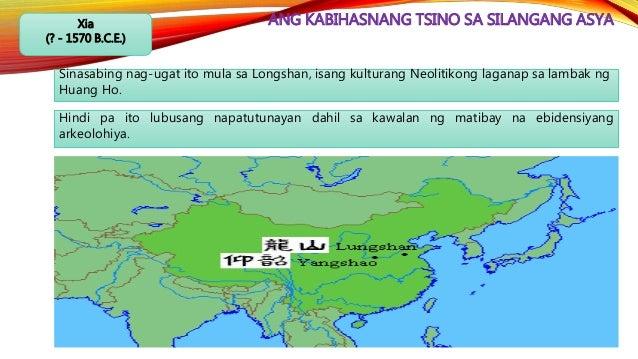 ANG KABIHASNANG TSINO SA SILANGANG ASYASui (589 C.E. – 618 C.E.) Nagkaroon lamang ng dalawang emperador ang Sui. Gayon man...