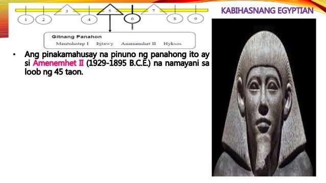 KABIHASNANG EGYPTIAN • Ikatlong Intermedyang Panahon Ang Ika-21 Dinastiya, na tinawag din bilang Tanites, ay pinasimulan n...