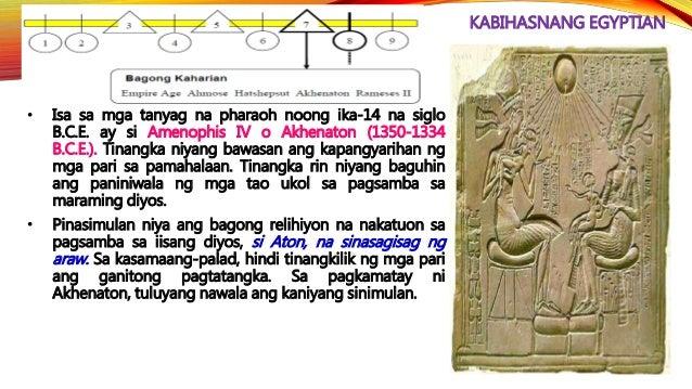 GAWAIN 9: WALK TO ANCIENT EGYPT Tukuyin ang inilalarawan sa bawat aytem upang makumpleto ang dayagram.