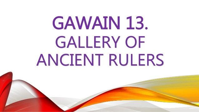 GAWAIN 14. K – A – K ORGANIZER