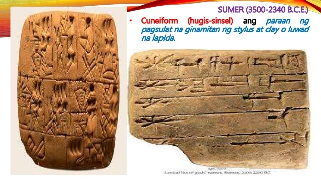 AKKAD (2340-2100 B.C.E.) • Sinakop ni Sargon I (2334-2279 B.C.E.) ang mga lungsod - estado at itinatag ang kauna -unahang ...