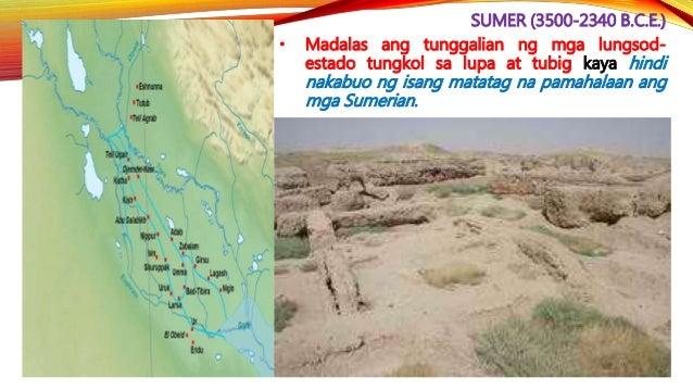 AKKAD (2340-2100 B.C.E.) • Noong 2100 B.C.E., panandaliang nabawi ng lungsod estado ng Ur ang kapangyarihan nito at pinamu...