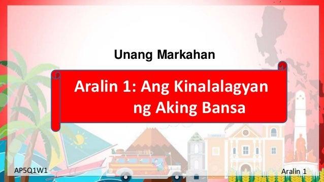 Araling Panlipunan Grade 5 1st Quarter Week 1 Day 1 Slide 2