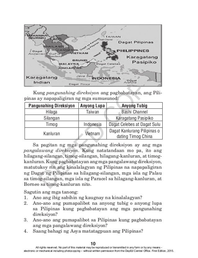 K to 12 grade 4 learners material in araling panlipunan q1 q4 15 fandeluxe Image collections