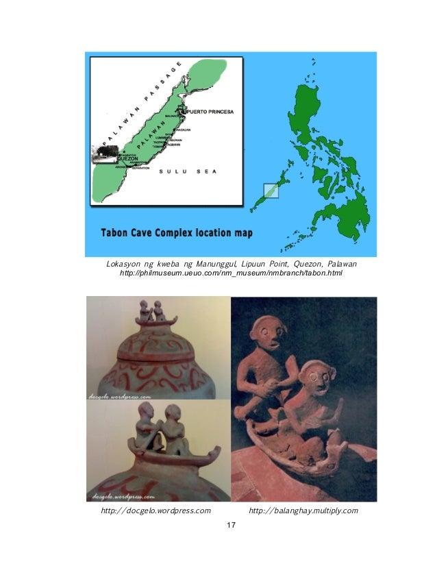 ! ! 17 Lokasyon ng kweba ng Manunggul, Lipuun Point, Quezon, Palawan http://philmuseum.ueuo.com/nm_museum/nmbranch/tabon.h...