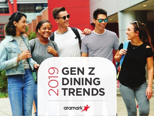 GEN Z DINING TRENDS 2019
