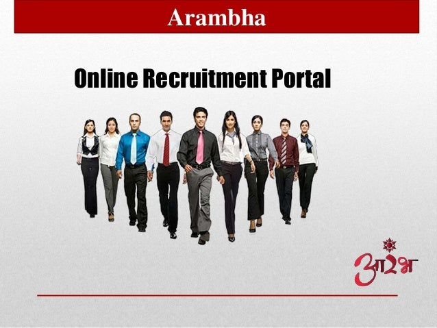 Online Recruitment Portal Arambha