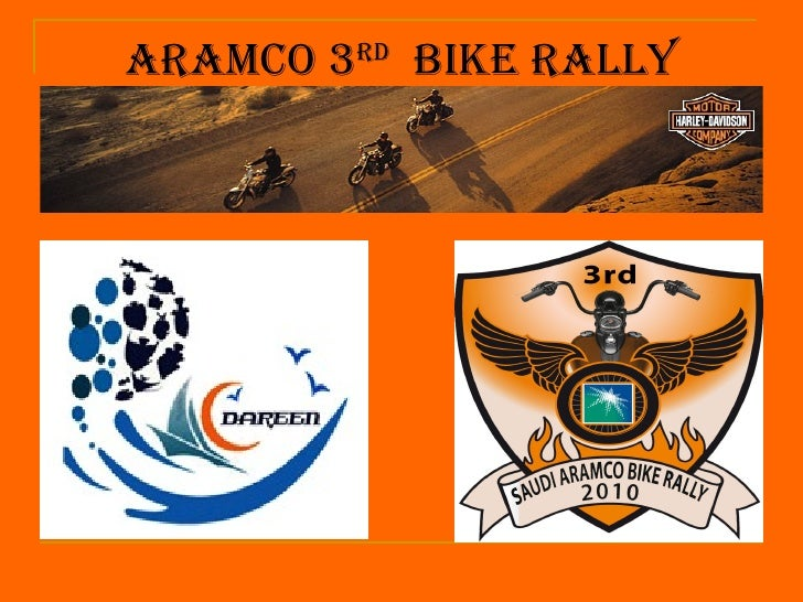 ArAmco 3rd Bike rAlly