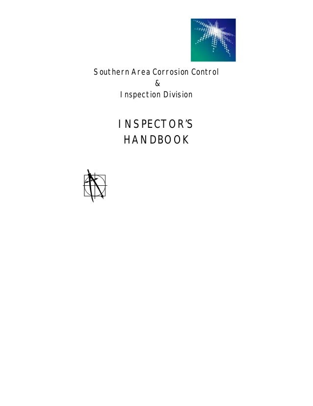 Aramco inspection handbook southern area corrosion control inspection division inspectors handbook fandeluxe Choice Image