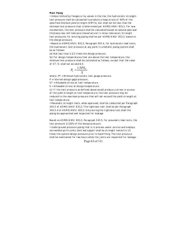 Aramco inspection handbook