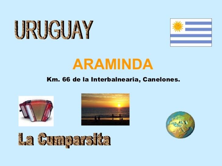 URUGUAY Km. 66 de la Interbalnearia, Canelones. ARAMINDA