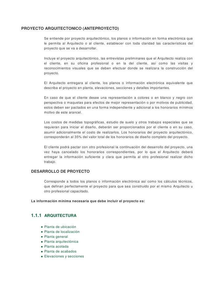Honorarios por proyecto arquitectos - Trabajo para arquitectos en espana ...