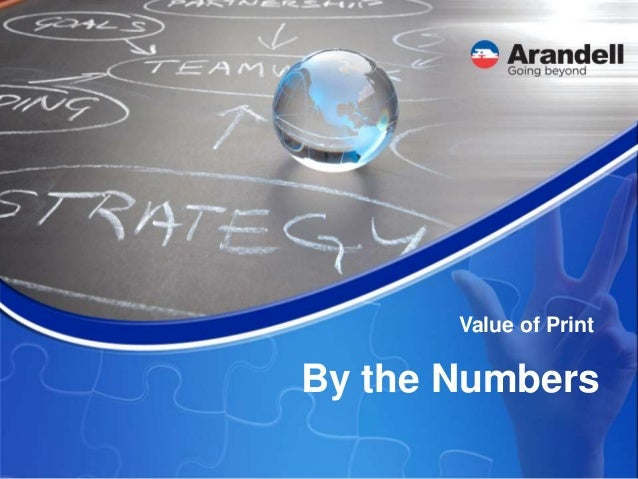 By the Numbers Value of Print