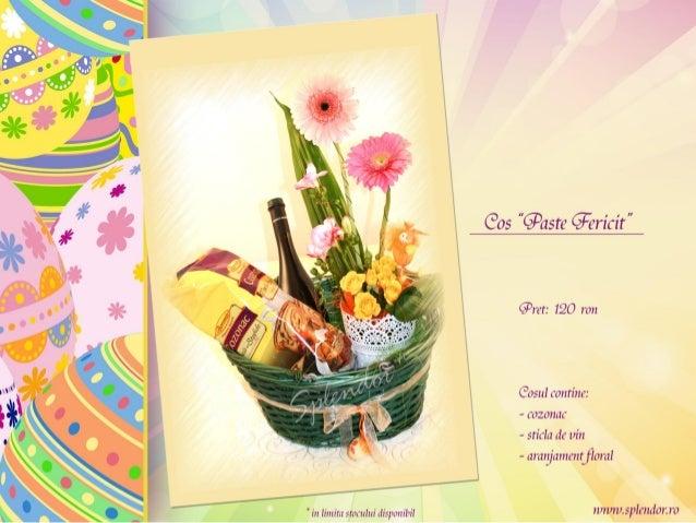 Aranjamente Florale Pentru Paste