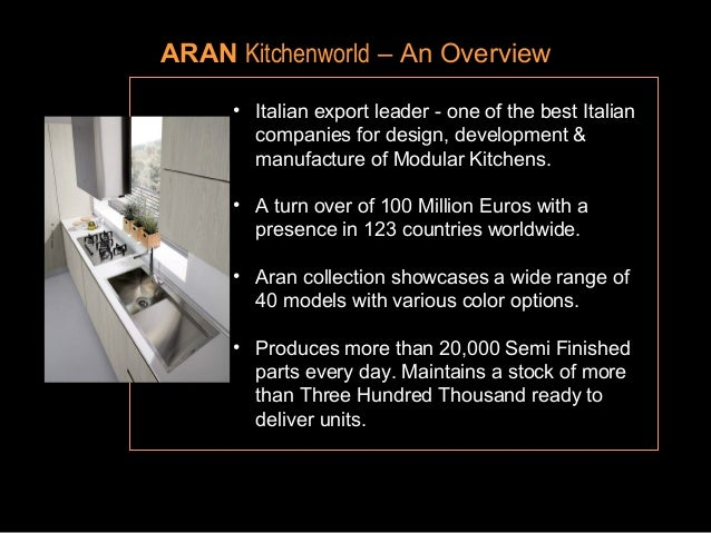 aran kitchenworld company profile