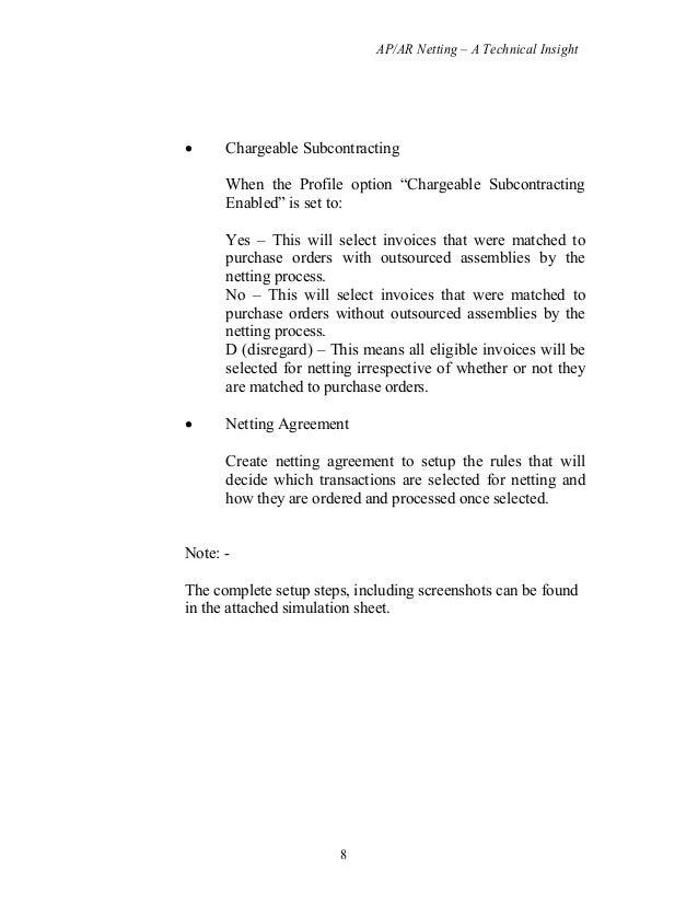 Ar Ap Netting Document